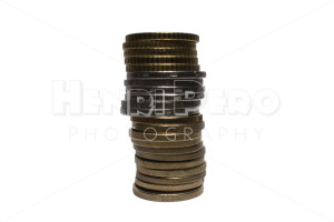 Euro Coin Stack - Henri Pero Photography