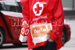 Finnish Red Cross Voluntary - Henri Pero Photography