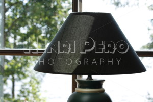 Lamp in Front of Window - Henri Pero Photography