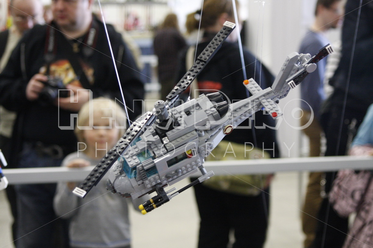 Lego Helicopter - Henri Pero Photography