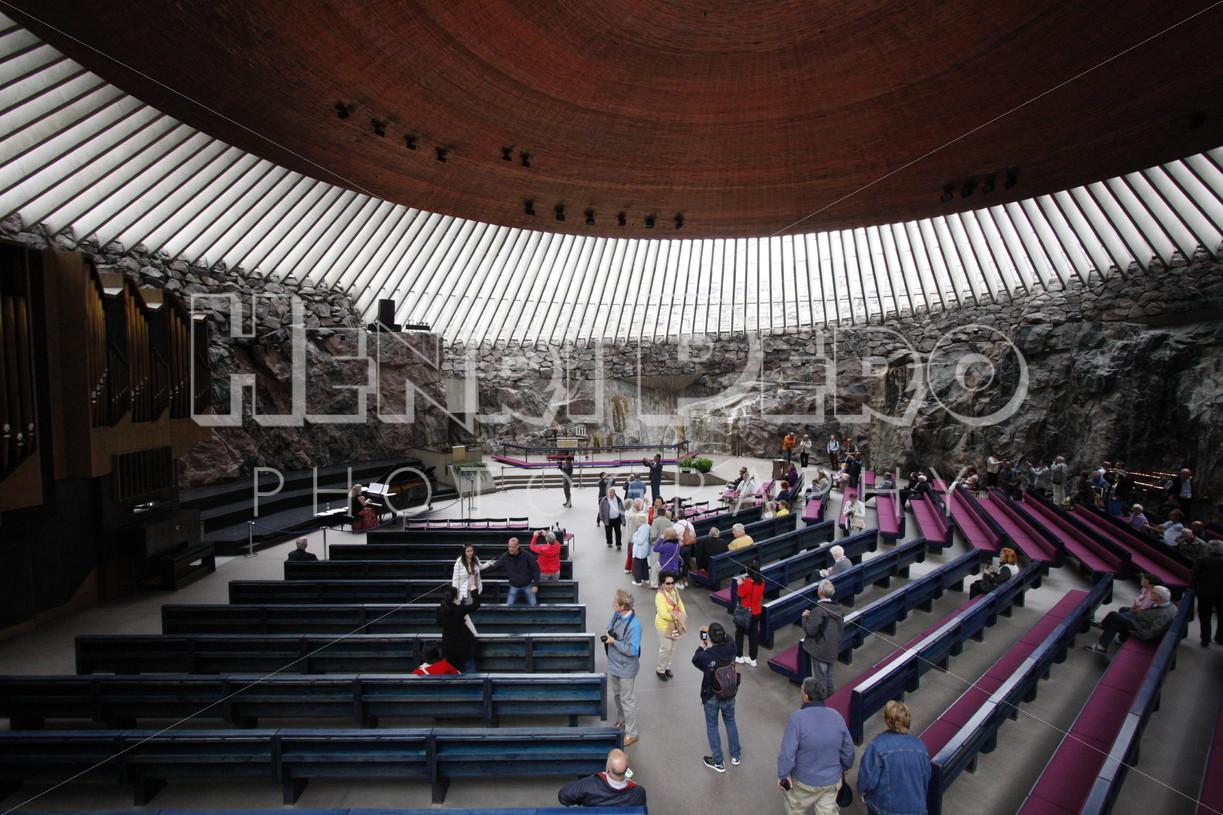 Temppeliaukio Church Inside - Henri Pero Photography