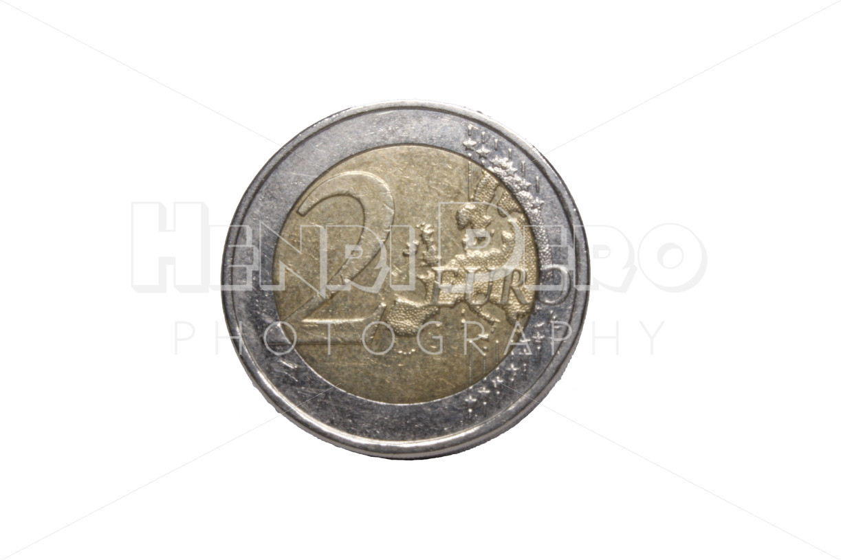 Two Euro Coin - Henri Pero Photography