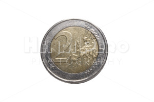 Two Euro Coin - Henri Pero Photography