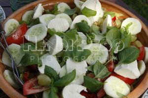 Fresh Mixed Salad - Henri Pero Photography