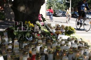 Car Accident Memorial - Henri Pero Photography