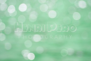 Abstract Mint Green Circle Pattern - Henri Pero Photography