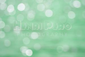 Abstract Mint Green Circle Pattern - Henri Pero Photography