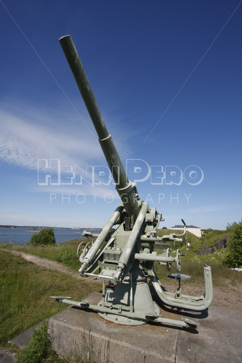Historic Military Cannon in Suomenlinna - Henri Pero Photography