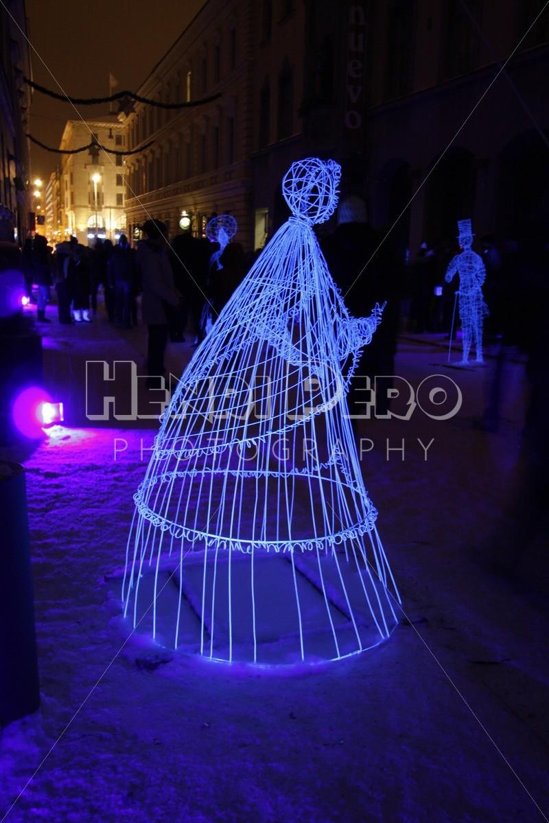 Installation at the Lux Helsinki 2016 Festival - Henri Pero Photography