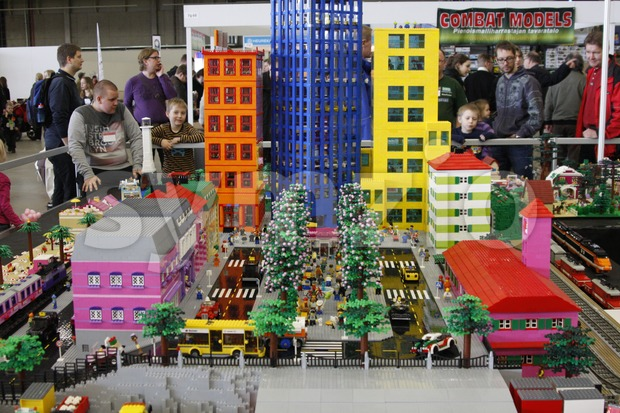 Lego City Stock Photo
