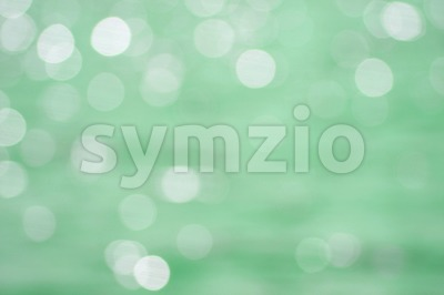 Abstract Mint Green Circle Pattern Stock Photo