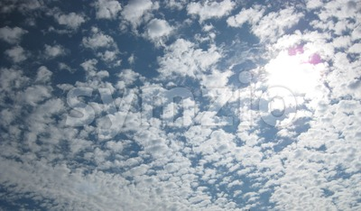 Clouds in the Sky Stock Photo