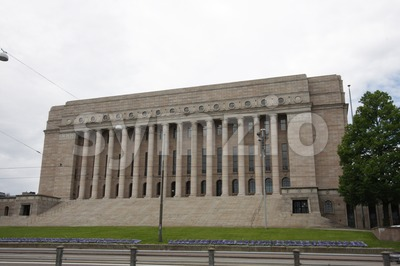 Parliament House, Helsinki Stock Photo