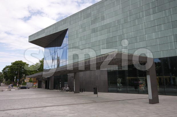 Helsinki Music Centre Stock Photo